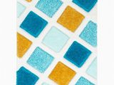 Thick Plush area Rugs 8×10 Well Woven Parker Blue Geometric Boxes Thick soft Plush 3d