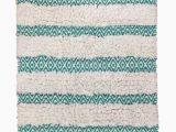 Threshold Brand Bath Rugs Threshold Turquoise Geometric Textured Shag Bath Rug Throw Mat 20×34 Walmart Com