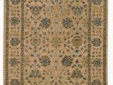 Tommy Bahama Bathroom Rugs Vintage oriental Handmade Wool Beige Blue Brown area Rug