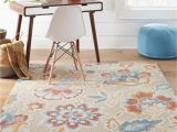 Tropical area Rugs 8 X 10 Allen Roth Milano 8 X 10 Multi Color Indoor Outdoor Floral Botanical Tropical Handcrafted area Rug