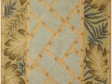 Tropical area Rugs 8 X 10 Tropical Palms and Bamboo 8 X 10 Rug