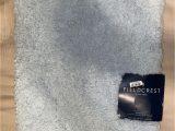 """Tufted Spa Bath Rug Fieldcrest 20""""x34"""" Tufted Spa Bath Rug Light Aqua Blue Fieldcrest Ultra soft New"""