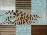 Turquoise and Brown area Rug 8×10 Chocolate area Rugs In Various Sizes and Patterns