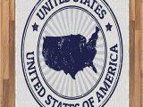 United States Map area Rug Amazon Lunarable Usa Map area Rug Grunge United States