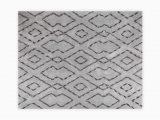 "Vcny Paper Shag Bathroom Rug Runner Vcny Home Morrissey High Low Geometric area Rug 5 X 7 6"" Grey"