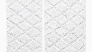 Vera Wang Bath Rug Diamond Tufted Diamond Reversible Bath Rugs Set Of 2
