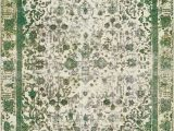 Vintage area Rugs 9 X 12 Green 9 2 X 12 2 Ultra Vintage Persian Rug