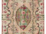 """Vintage area Rugs for Sale Turkish Vintage area Rug 4 2"""" X 8 1"""" 50 In X 97 In"""