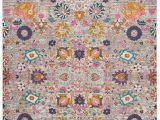 Viv and Rae area Rugs Shortwood Silver Rug
