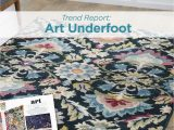 Walmart area Rugs Better Homes and Gardens Art Underfoot Trend Bhg Trend