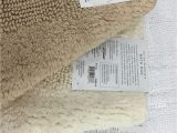 Wamsutta Cotton Jacquard Bath Rug Wamsutta Reversible 21 Inch X 34 Inch Bath Rug In Vanilla