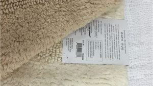 Wamsutta Cotton Reversible Bath Rug Wamsutta Reversible 21 Inch X 34 Inch Bath Rug In Vanilla