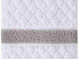 Wamsutta Hotel Bath Rug Amazon Wamsutta Hotel Border Fingertip towel In Grey
