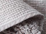 Wamsutta Hotel Bath Rug Jr522 Cotton White Plain Weave Hotel Collection Bath Rugs