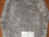 Wamsutta Perfect soft Bath Rug Wamsutta Duet Elongated toilet Lid Cover Grey