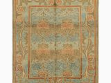Wayfair 10 X 12 area Rugs isabelline One Of A Kind Mehdi Hand Knotted Light Blue