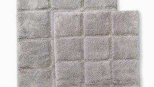 Wayfair Bathroom Rugs and towels 2 Piece Cotton Checkers Bathrug Set