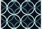 Wayfair Blue and White Rug Rosemarie Dark Blue White Rug