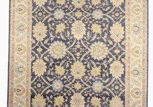 Wayfair Rugs 8×10 Blue Blume Wool Gray Beige area Rug