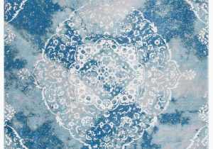 Wayfair Rugs Blue and White Austine oriental Blue White area Rug