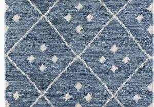 Wayfair Rugs Blue and White Kota Geometric Handmade Kilim Blue White area Rug