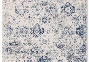 Wayfair Rugs Blue and White Ophelia & Co Macy oriental White Royal Blue area Rug