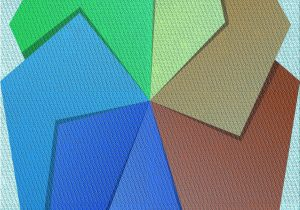 Wayfair Rugs Blue Green Geometric Wool Light Blue Green Brown area Rug