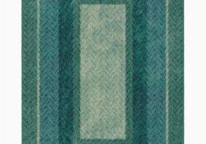 Wayfair Rugs Blue Green Sheridan Braided Printed Green Blue area Rug