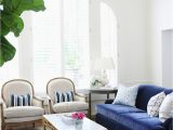 What Color Rug with Blue Couch 25 Stunning Living Rooms with Blue Velvet sofas