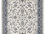 White and Blue oriental Rugs Details About Palace Aisha oriental Rug White Blue Traditional Persian Floor Carpet Mat Pile