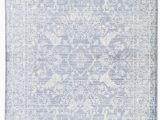 White and Blue oriental Rugs Jaipur Living Serena Lumineer Srn03 Blue White area Rug