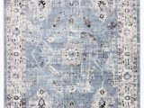 White and Blue oriental Rugs Nashira oriental Blue & White area Rug In 2020