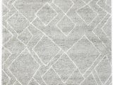 White area Rug with Grey Winslet Modern Grey and White area Rug