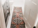 White Bath Rug Runner where to Find the Best Affordable Vintage Turkish Runners