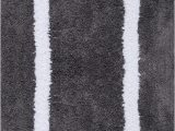 White Bath Rug with Black Border Amazon Home Dynamix Bpsr 451 Border Plush Step