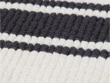 White Bathroom Rugs Mats Striped Bath Mat White Black Striped Home All