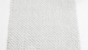 White Cotton Bath Rug Cotton Bobble Bath Mats White