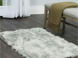 White Faux Fur Bathroom Rug Amazon Home Dynamix Nicole Miller aspen Sheepskin Faux