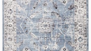 White On White area Rugs Jaipur Living solstice Nashira sol01 Blue White area Rug