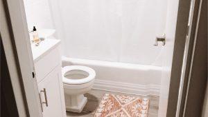 White Runner Rug for Bathroom Cute Bath Mat