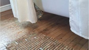 Wine Colored Bathroom Rugs Gray Bathroom with Wood Flooring Containing Wine Cork Bath