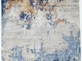 Wool and Silk area Rugs Hand Knotted Wool Silk Blue Gray area Rug