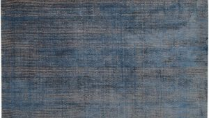 Wool area Rugs Blue Faded Indigo Blue Wool area Rug