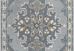 Wool area Rugs Blue Rizzy Home Resonant Collection Wool area Rug 10 X 13 Gray Light Gray Dark Beige Blue Gray Central Medallion