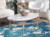 Wool or Cotton area Rugs Blue Ocean Handknotted Wool area Rug