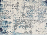 Wyona Distressed Abstract Navy Aqua area Rug Corey Distressed Abstract Navy Aqua area Rug 710×103
