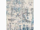 Wyona Distressed Abstract Navy Aqua area Rug Corey Distressed Abstract Navy Aqua area Rug Reviews