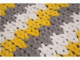 Yellow and White Bath Rug Yellow White and Grey Patterned Bath Mat