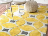 Yellow and White Striped area Rug 25 Yellow Rug and Carpet Ideas to Brighten Up Any Room