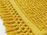 Yellow Bath Rugs Target Textured Weave Bath Mat Mustard Yellow Home All